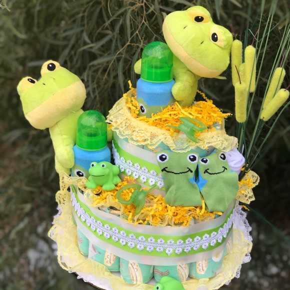 The Honest Company Accessories Twins Diaper Cake Baby Shower Gift